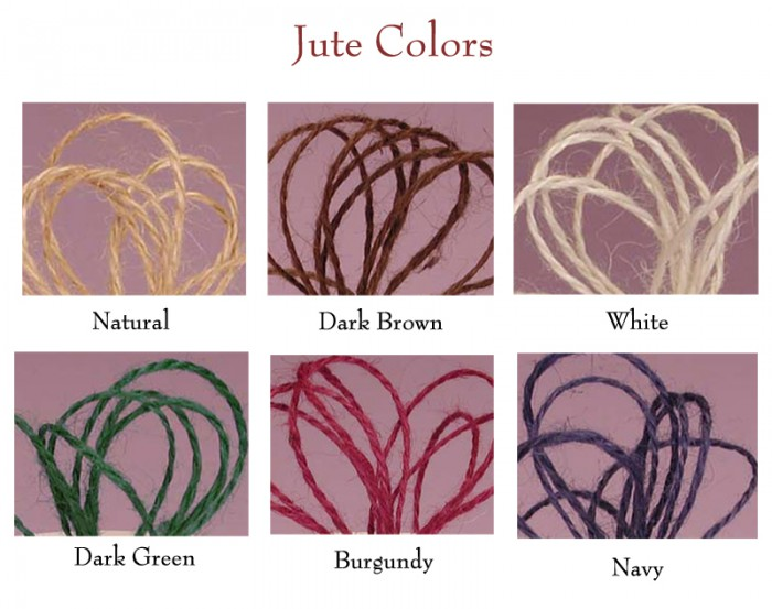 our selection of jute copy